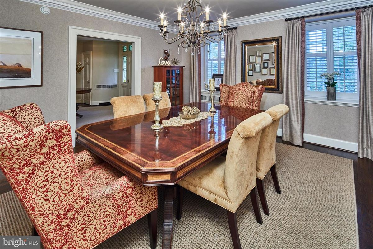 Luxury real estate majestic stone home on a beautiful block