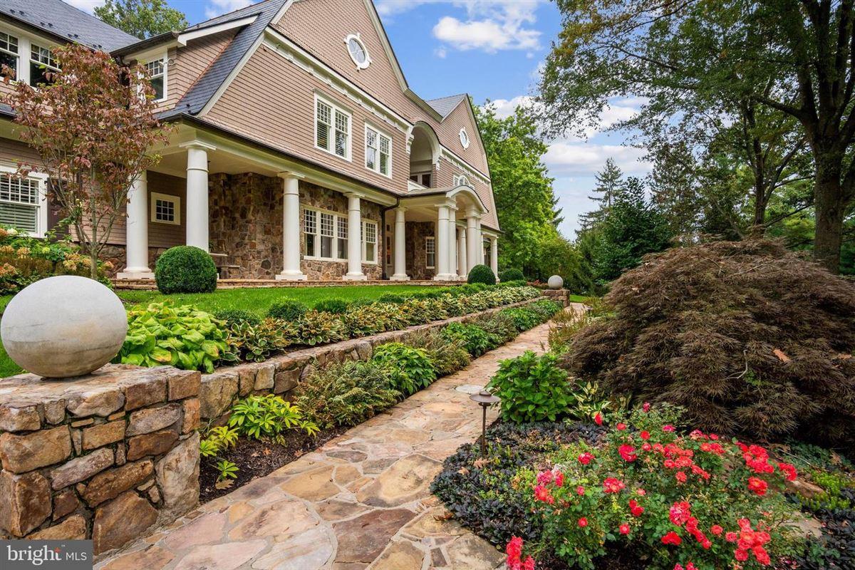 Luxury properties sprawling Nantucket-style estate
