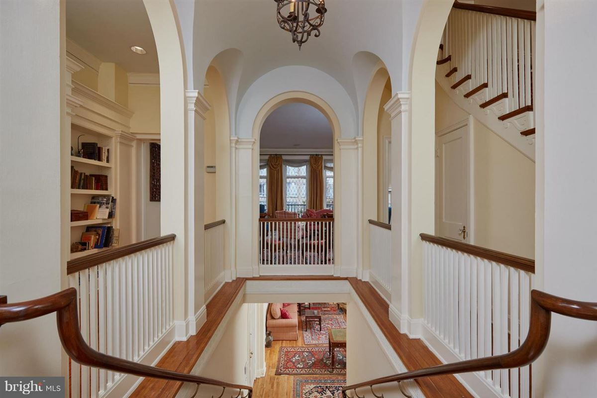 Luxury real estate Exceptional Historic Town Home Elegance