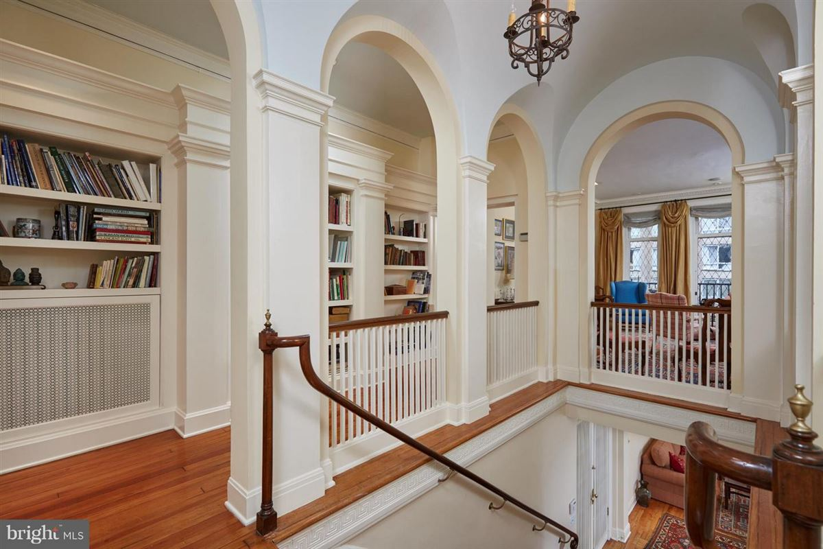 Luxury properties Exceptional Historic Town Home Elegance