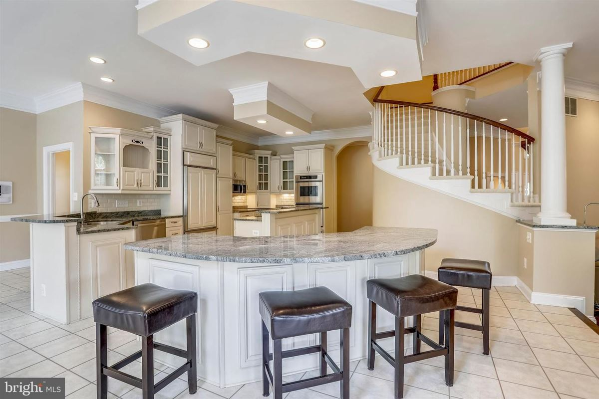 Luxury homes in upscale home with Top of the line everything
