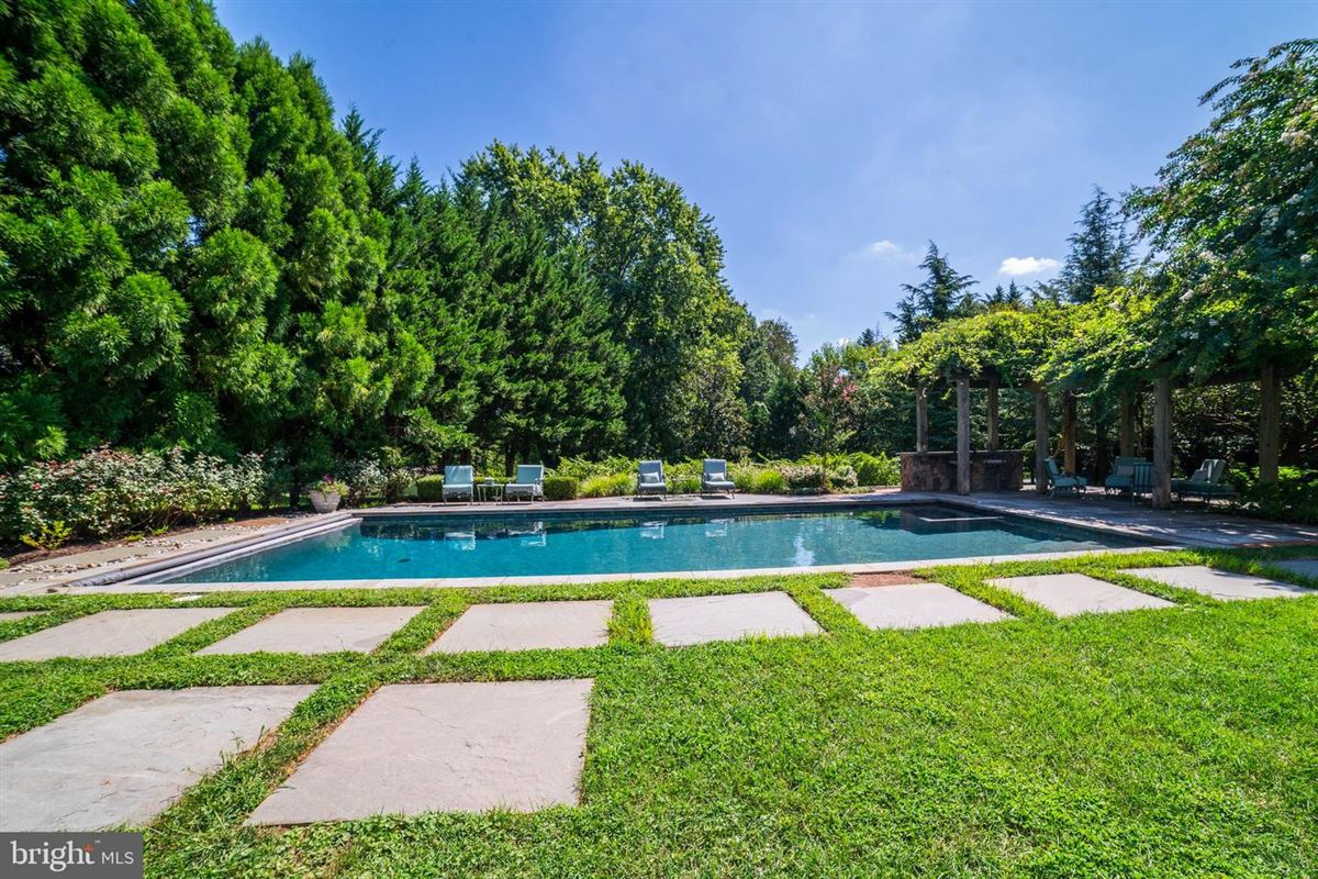 Mansions in stately light-filled colonial on an exquisite two acre lot