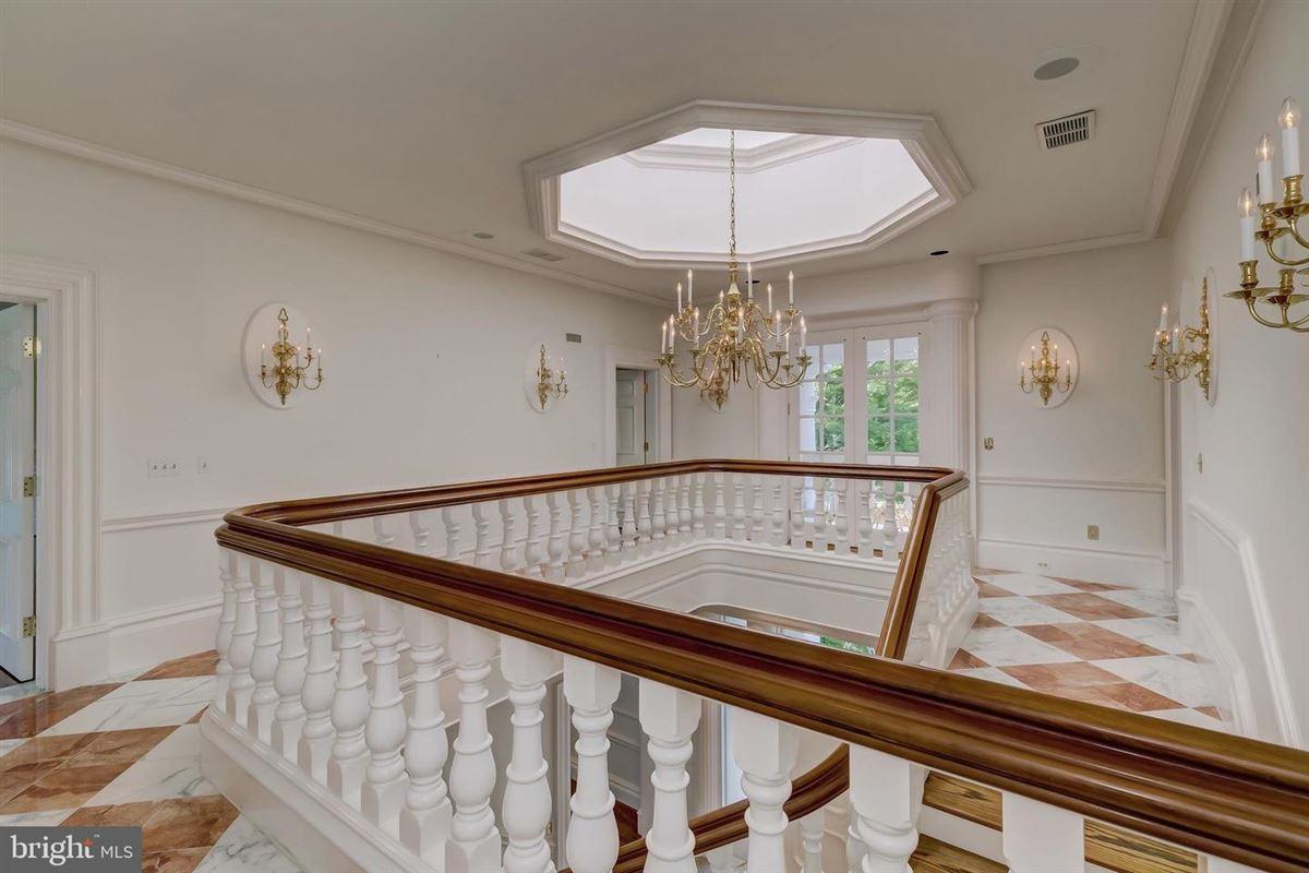 Luxury real estate Exquisite custom built brick estate home on 49 acres