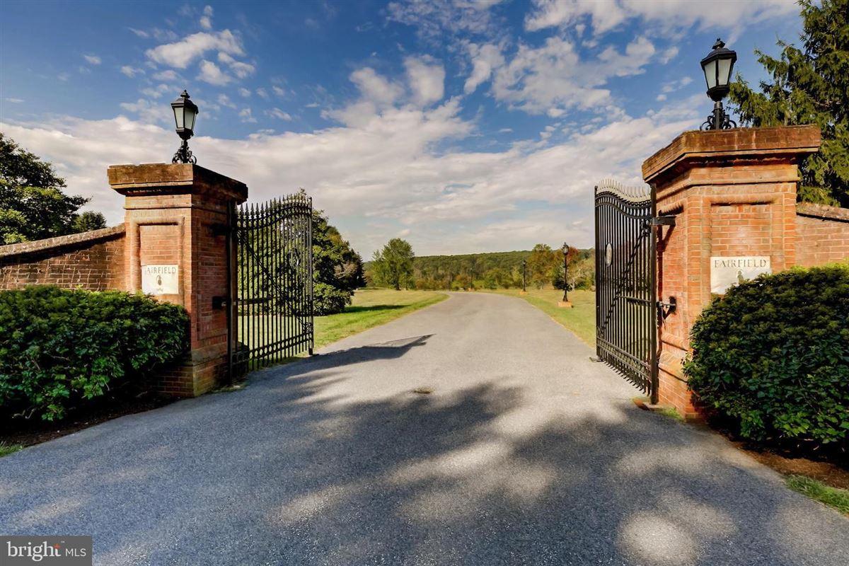 Luxury homes in Exquisite custom built brick estate home on 49 acres