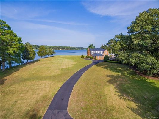 Highview Manor - legacy estate on the Piankatank River  luxury real estate