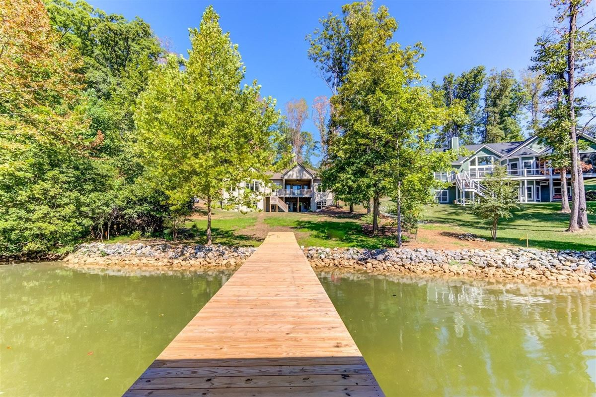 Luxury properties quality-built new waterfront home