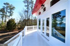 Luxury real estate Newly custom built waterfront home on over six acres
