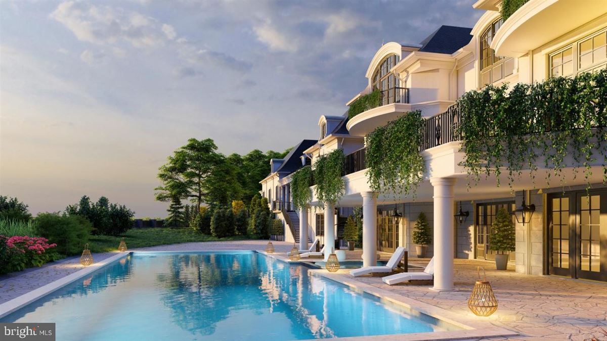 Luxury real estate exquisite estate to be built it Ballantrae Farms