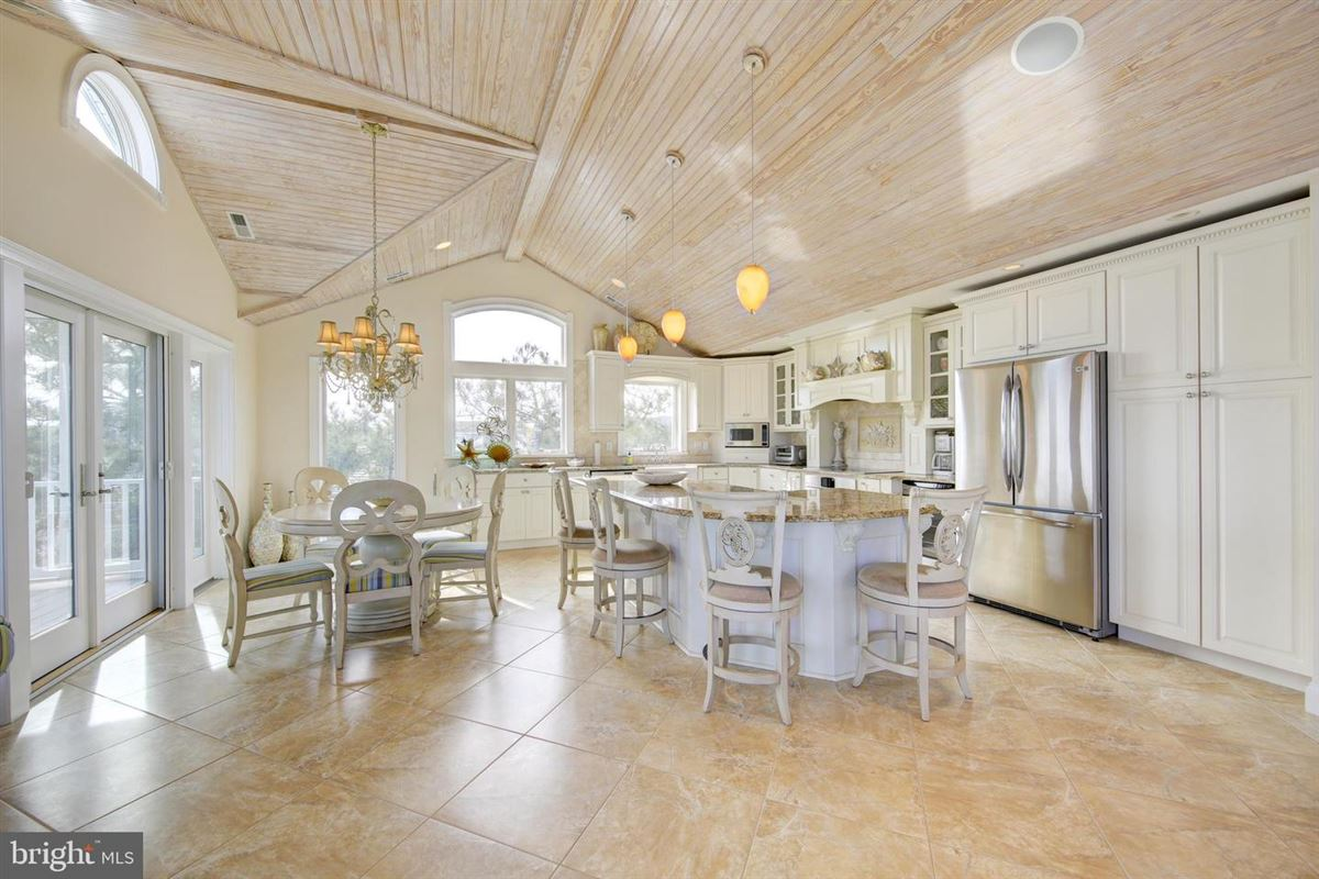 Luxury real estate This elegant beach house is located just two lots from the oceanfront