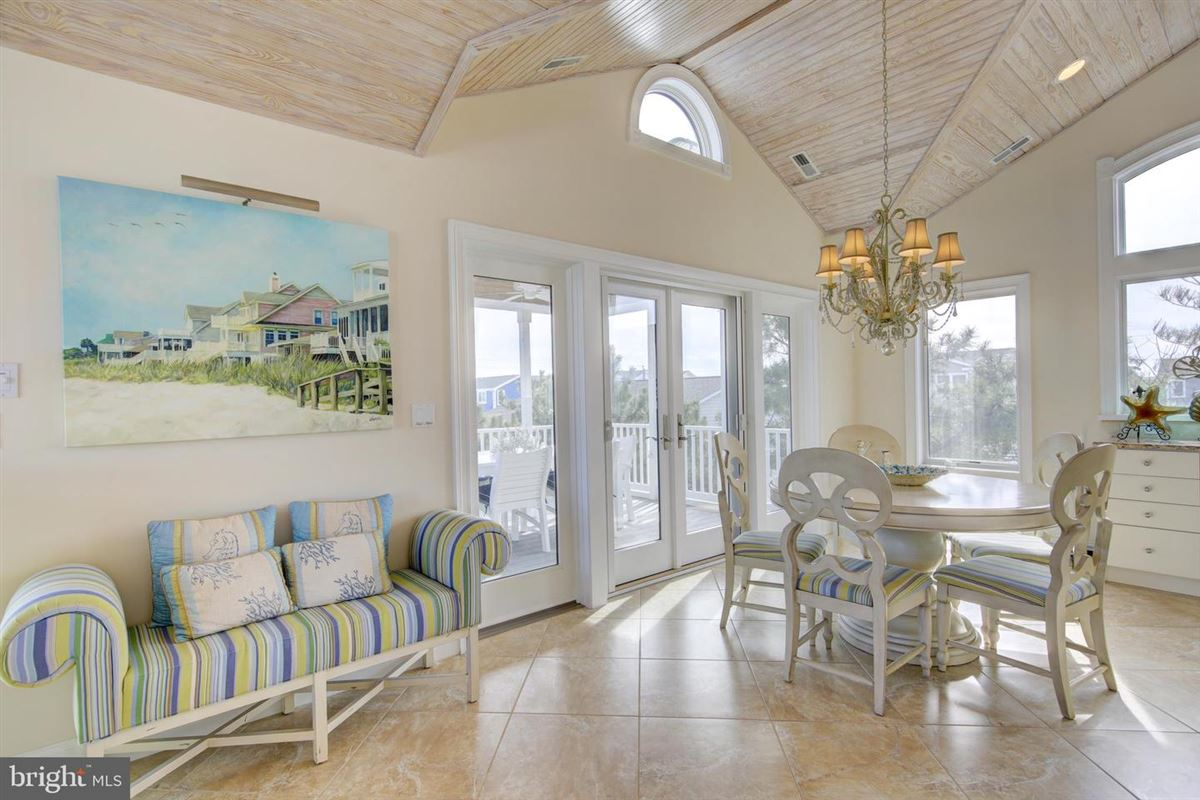 Mansions This elegant beach house is located just two lots from the oceanfront
