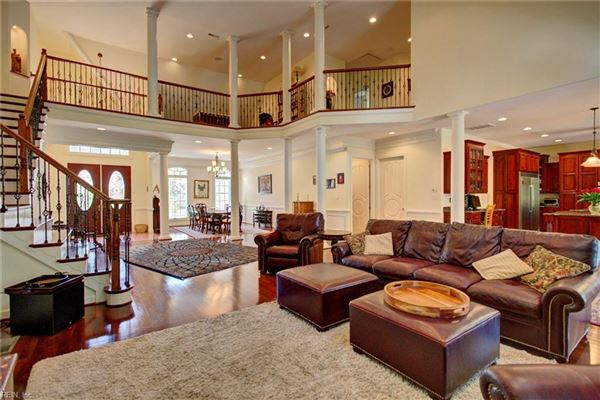 stately executive home in the heart of York County luxury real estate