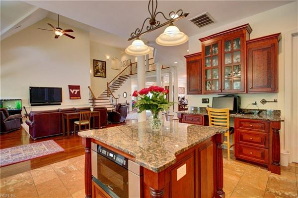 stately executive home in the heart of York County mansions