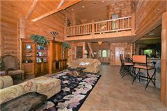 amazing Wilderness Log home luxury real estate