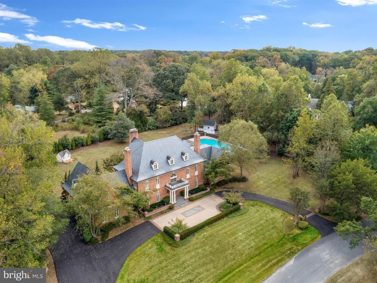 Luxury real estate all brick waterfront estate home