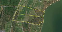 Luxury properties Waterfront lot on the Bay in stevensville