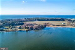 Mansions in Waterfront lot on the Bay in stevensville