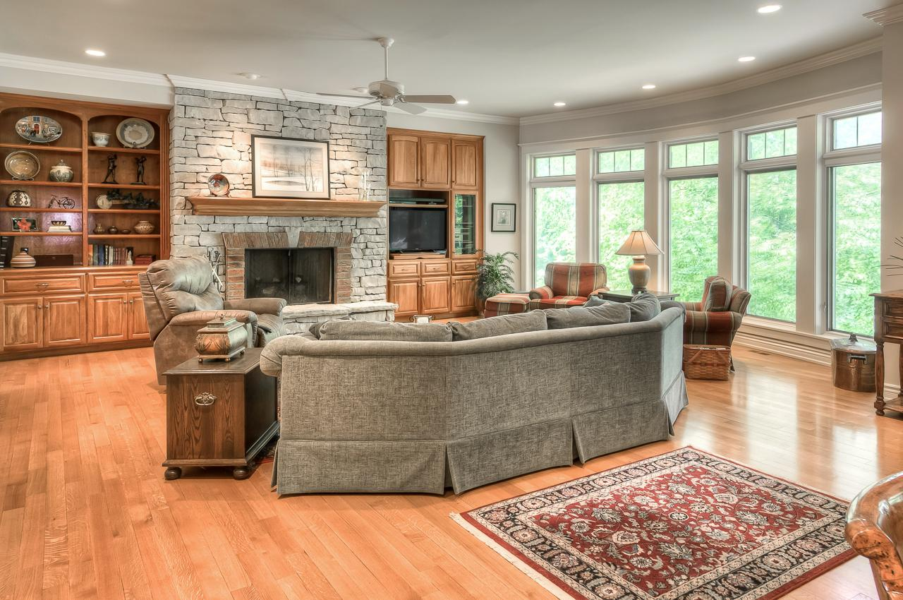 Luxury homes in beautifully built ranch with high end finishes