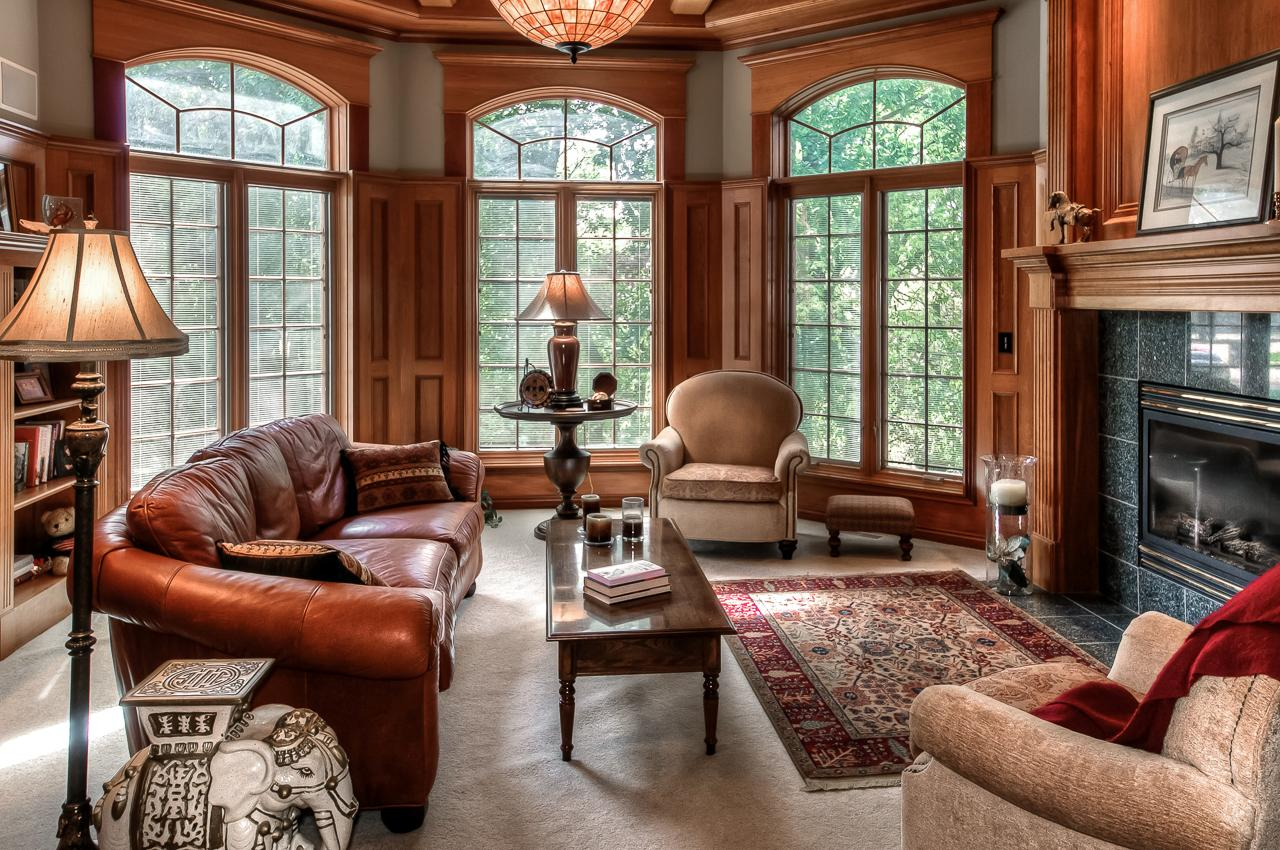 Luxury real estate beautifully built ranch with high end finishes