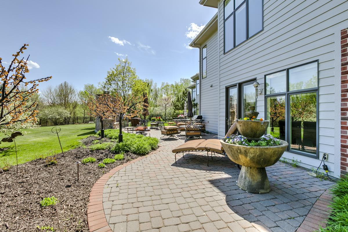 lovely home with outdoor fireplace and patio luxury properties
