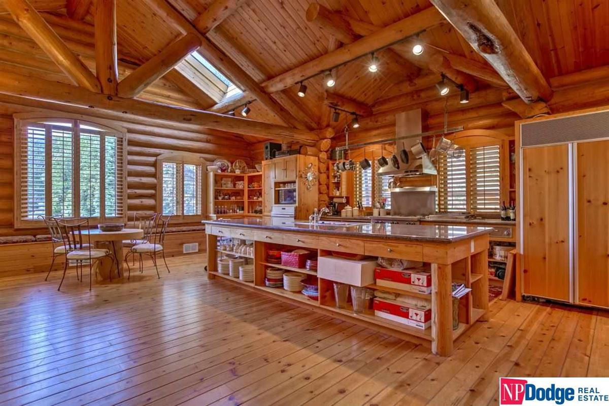 Luxury homes in AUTHENTIC LOG Home and Guest Lodge