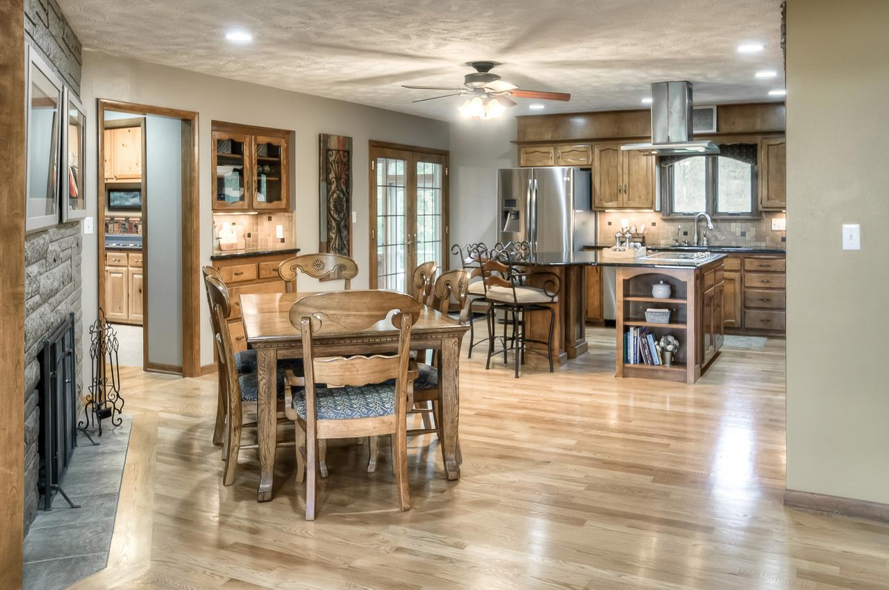 Luxury properties updated ranch in beautiful private setting