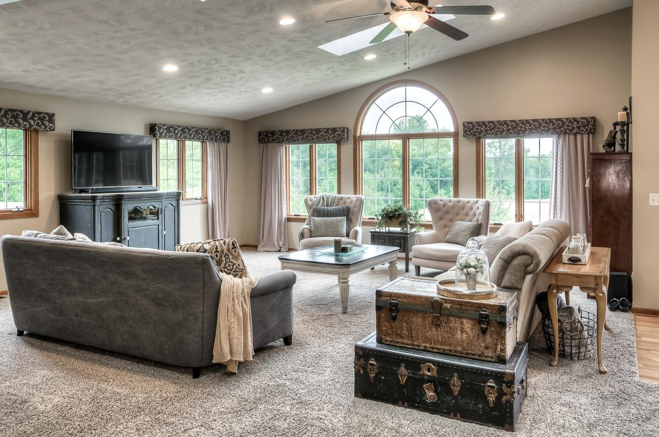 Luxury homes updated ranch in beautiful private setting