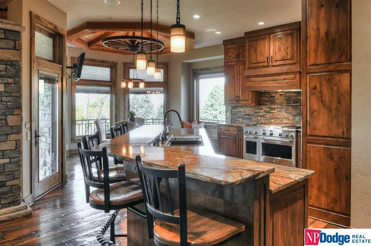 High river views luxury homes