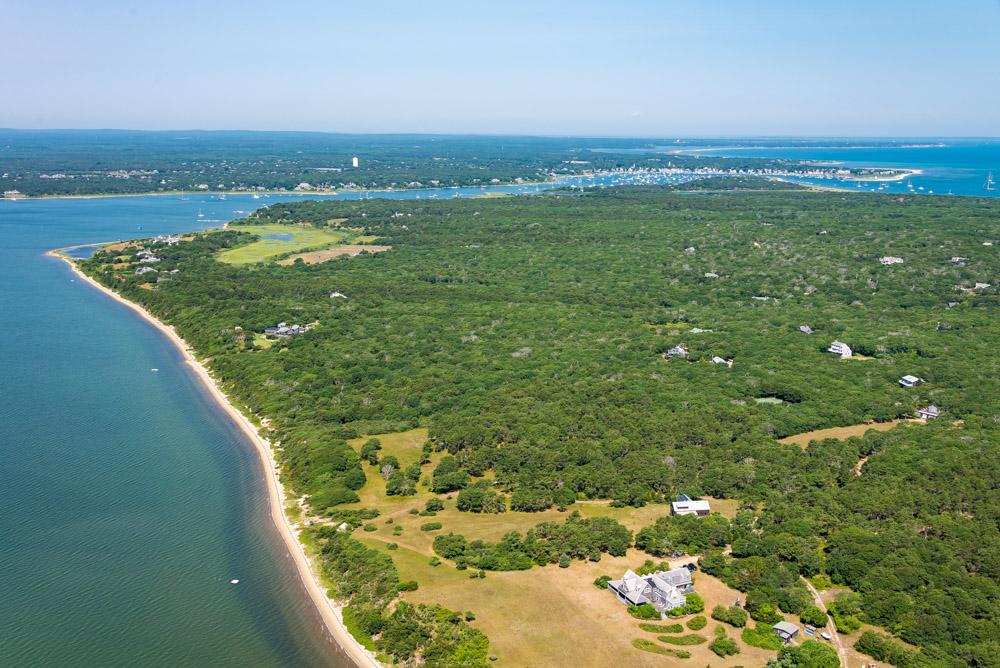 Luxury real estate Waterfront Parcel on Chappaquiddick