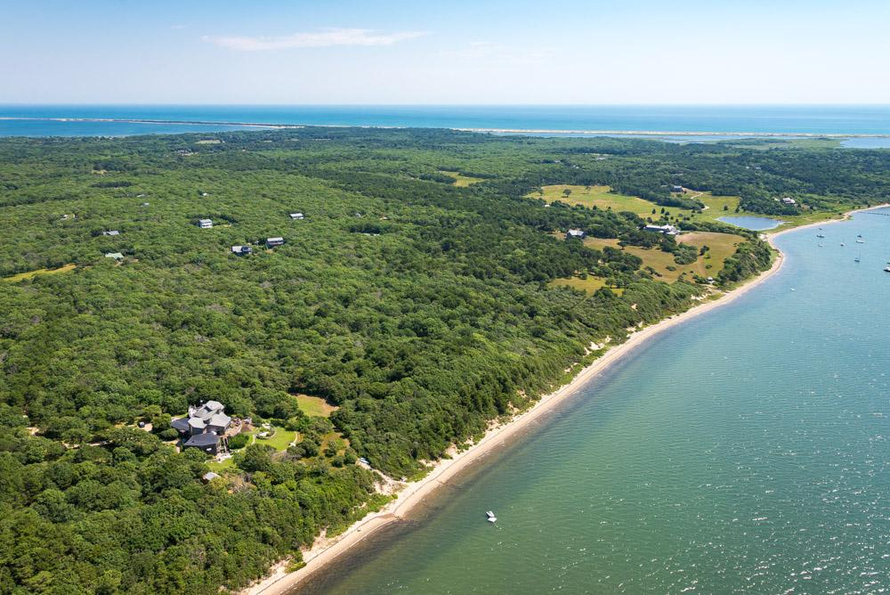 Waterfront Parcel on Chappaquiddick luxury real estate