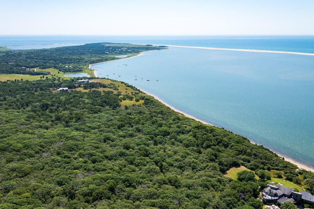 Luxury properties Waterfront Parcel on Chappaquiddick