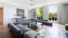Luxury real estate renovated apartment retaining classic charm