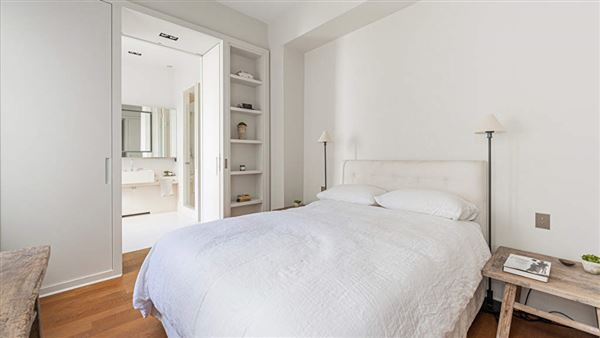 Luxury homes in renovated apartment retaining classic charm