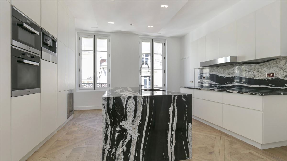 Luxury real estate completely refurbished duplex apartment
