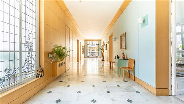 Luxury real estate elegant apartment with multiple balconies