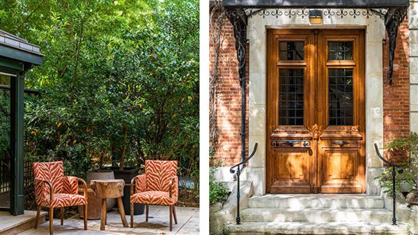 Mansions in lovely Parisian luxury home