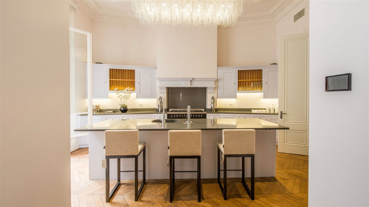 Luxury real estate exquisite renovated flat