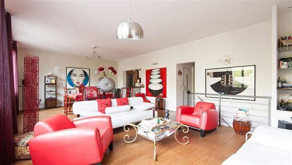 triplex on Boulevard Berthier luxury homes