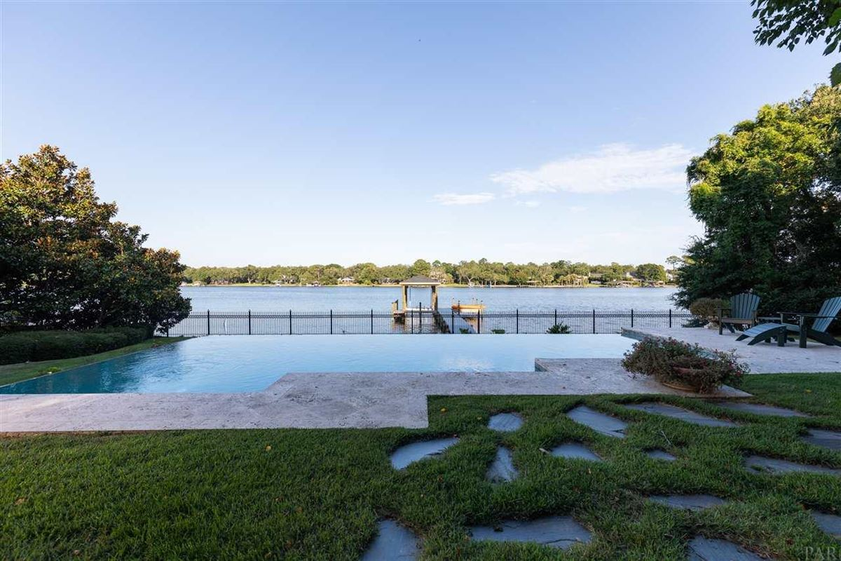 Luxury properties Charming and inviting waterfront home