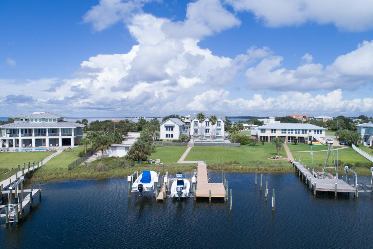 Luxury properties 200 Sabine Dr. in Pensacola Beach