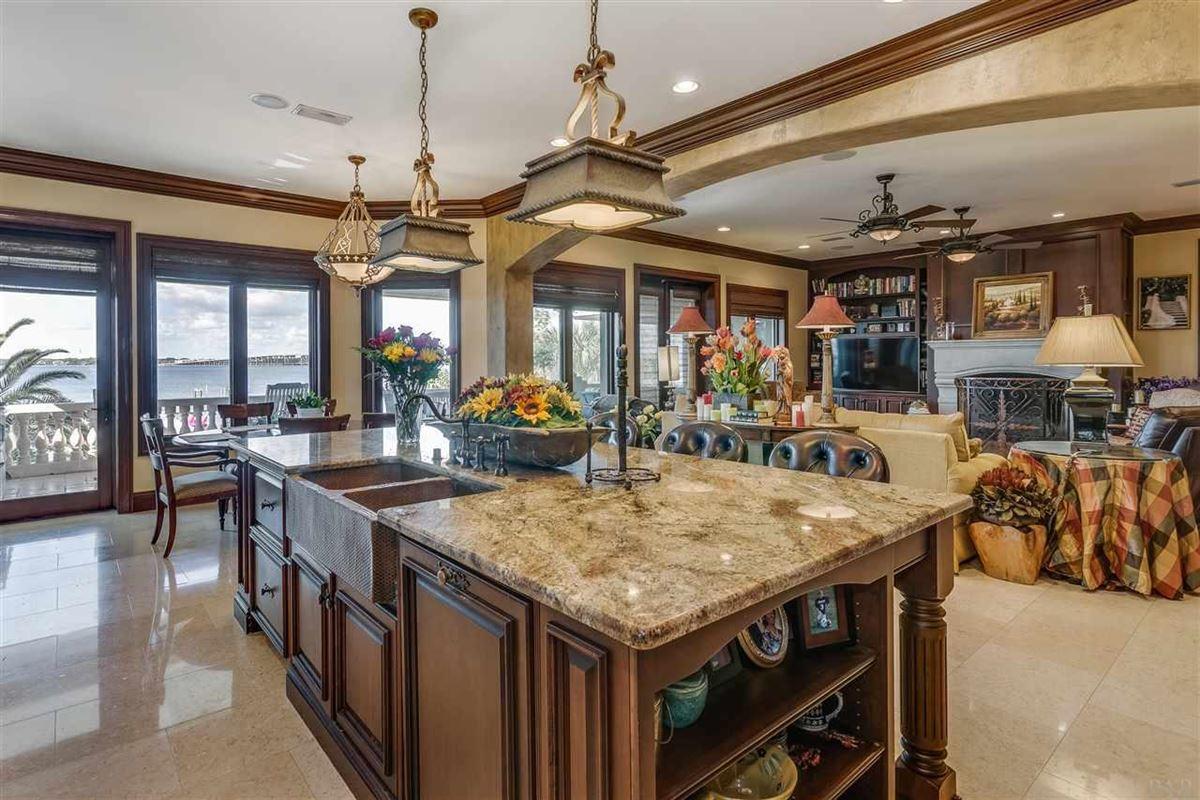 Luxury real estate lovely estate on Santa Rosa Sound