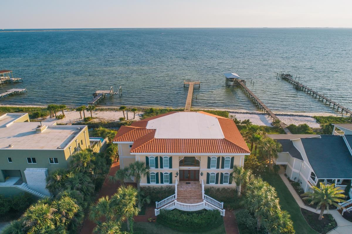 Luxury real estate Mediterranean style home with timeless appeal
