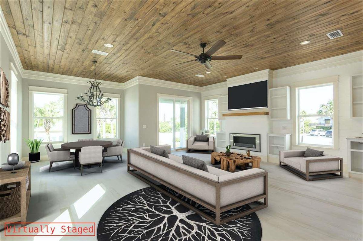 Luxury real estate paradisiac Ole River home