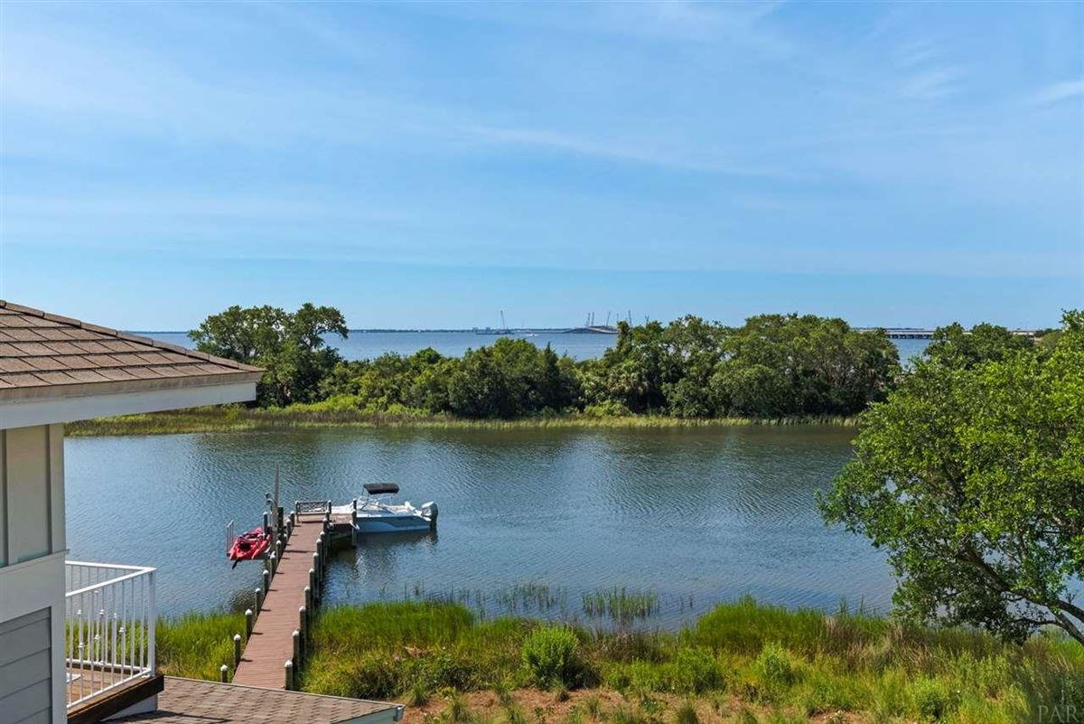 Luxury homes rare waterfront home on Bayou Texar