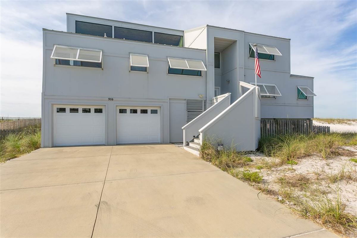 Pensacola Beach Gulf-front dream home mansions