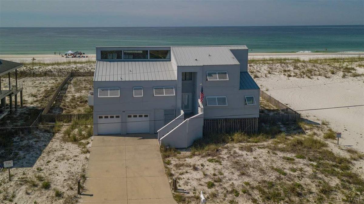 Luxury properties Pensacola Beach Gulf-front dream home