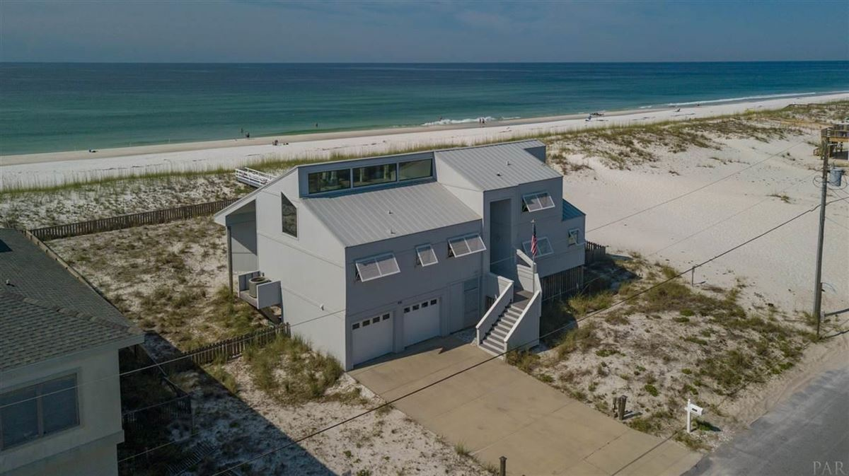 Pensacola Beach Gulf-front dream home luxury properties