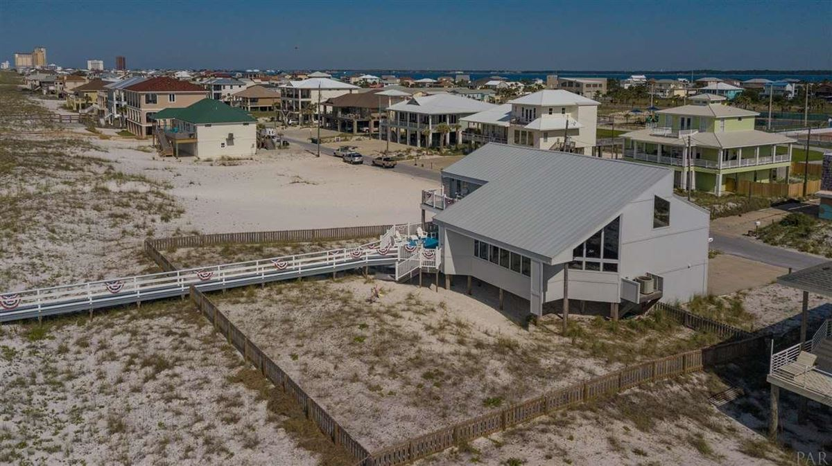 Mansions Pensacola Beach Gulf-front dream home