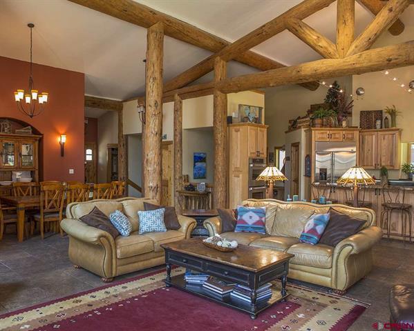 Luxury homes Custom Colorado family home on 10 acres
