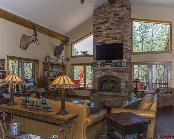 Luxury real estate Custom Colorado family home on 10 acres