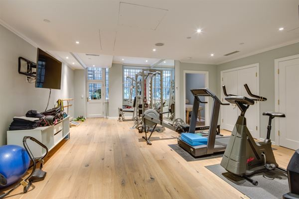 Luxury homes in stately six-story townhome